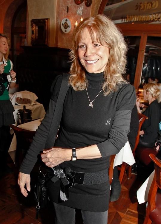 Lenka Filipová v únoru 2013.