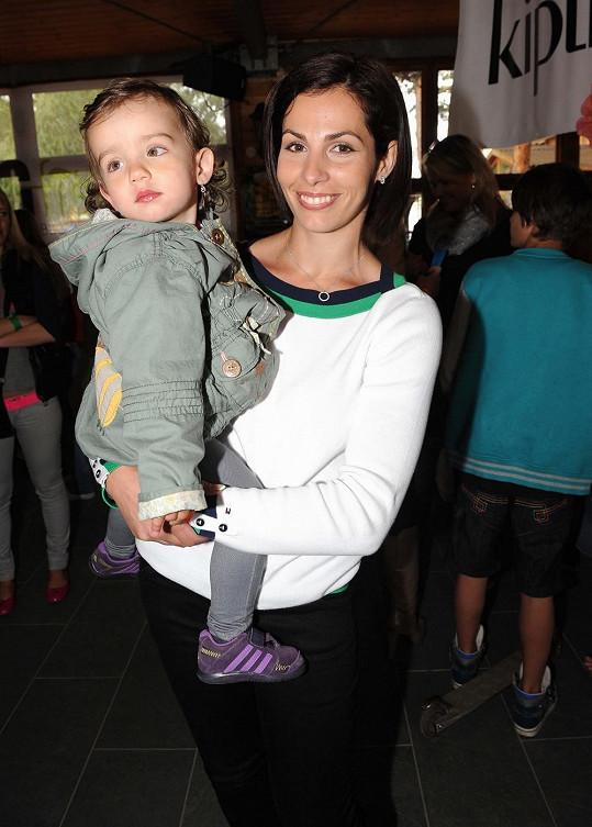 Kateřina Baďurová s dcerou Elen.