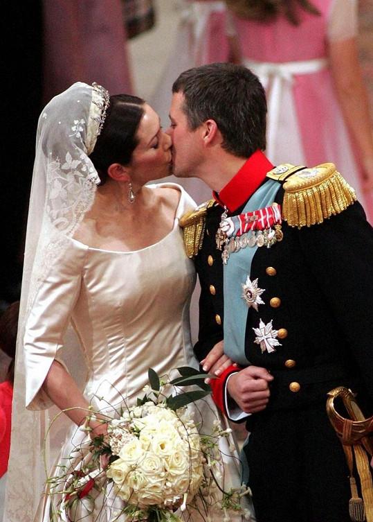 Svatba dánských protějšků se konala již v roce 2004.