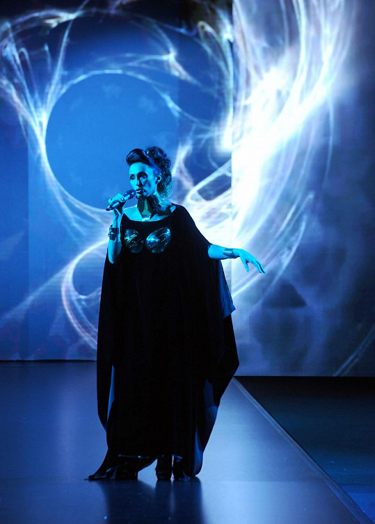 Slovenská operní diva v odvážném modelu