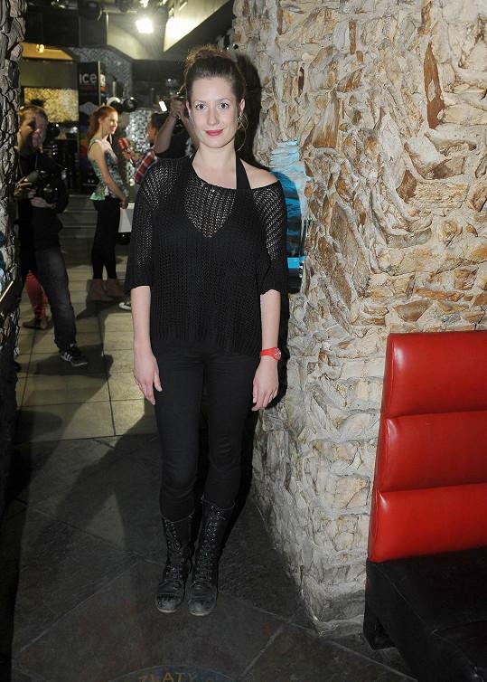 S Lenkou Zahranickou jsem si povídali na akci, kde soutěžila o hodinky se svými mladými hereckými kolegy.