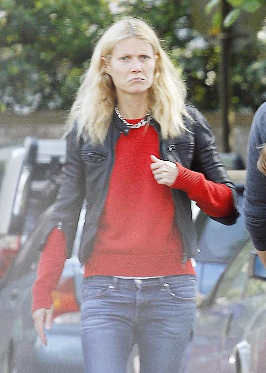 Tohle je skutečně Gwyneth Paltrow...