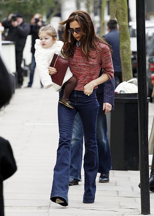 Victoria Beckham má velikost nula.