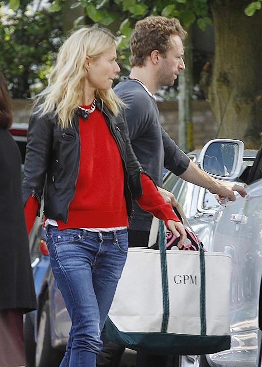 Paltrow s manželem Chrisem Martinem