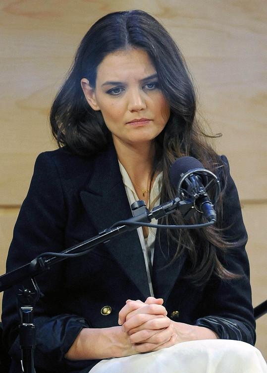Herečka má image nudné ženy.