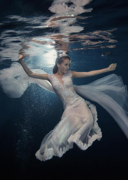 Lucie jako mořská víla