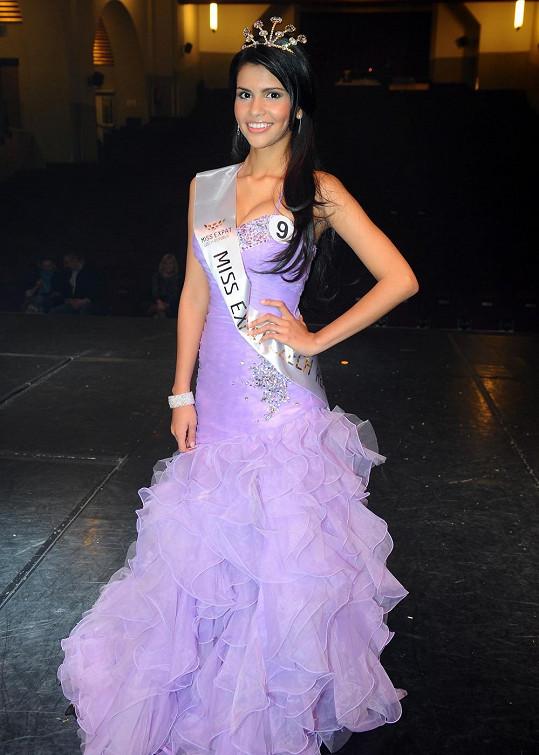 Nová Miss Expat 2012 Paula Alejandra Gonzalez.