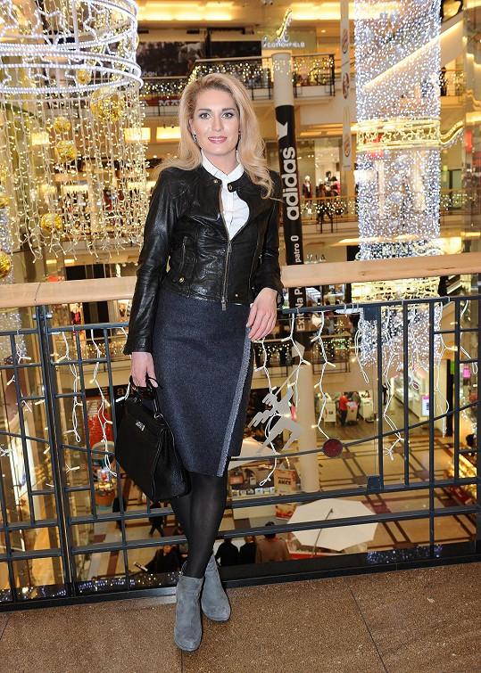 Olga Menzelová teď patří mezi velmi upravené ženy.