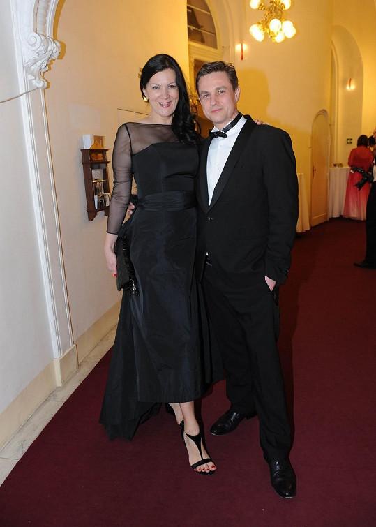 Taťána Kovaříková s přítelem Davidem