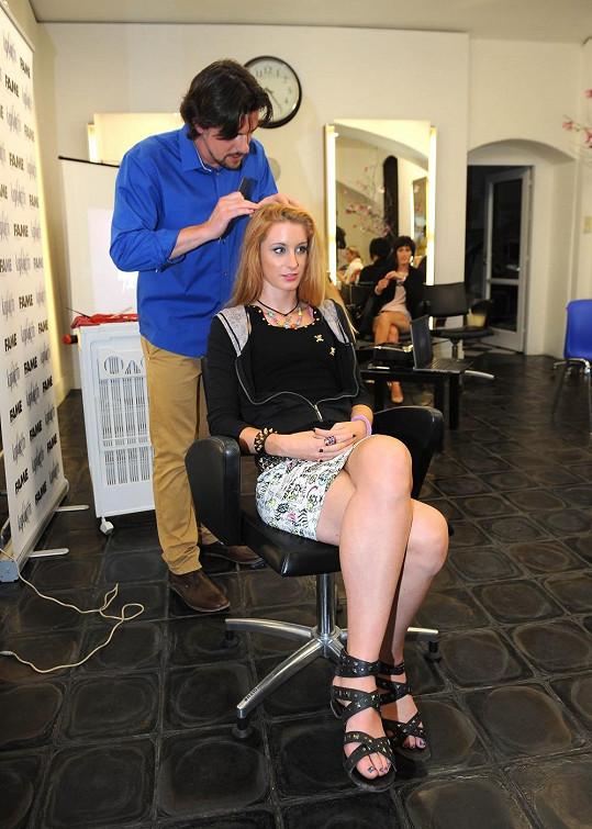 Sabina Křováková nejprve vyzkoušela vlasovou diagnózu.
