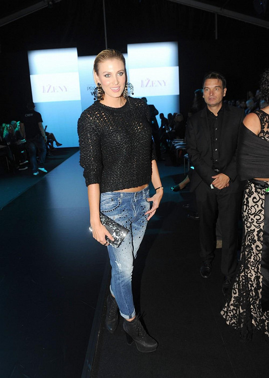 Jedním z hostů Gala Fashion Night byla i Katka Průšová.