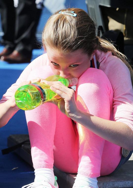 Dcera Kateřiny Neumannové se zúčastnila Pražského mezinárodního maratonu.