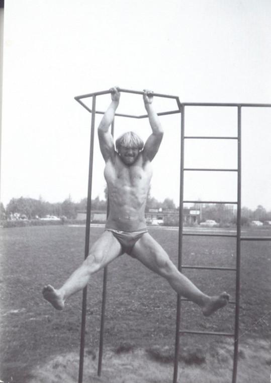 Martin Maxa sportuje od dětství.