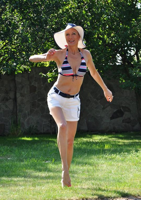 Renata Drössler má zkrátka styl.