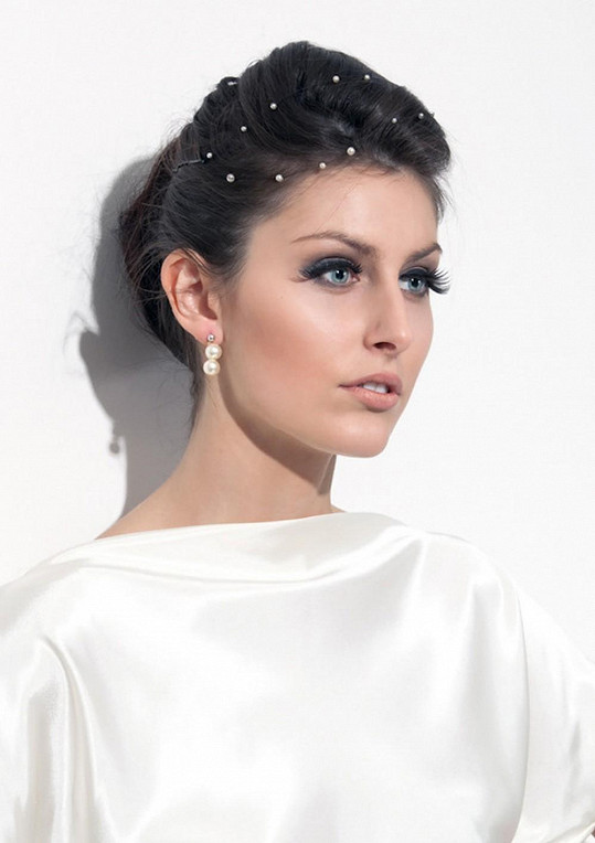 Sandra Marková má to štěstí, že pro své modely nepotřebuje modelky. Fotí je na sobě.