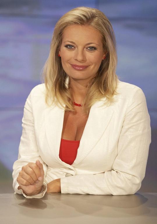 Lucie Borhyová před několika lety.