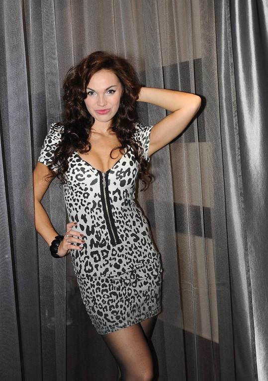 Kamila Nývltová zhubla, ale vnady jí zůstaly.