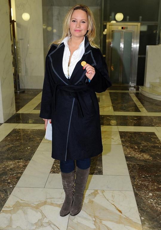 Jitka je řadu let ambasadorkou nadace Debra.