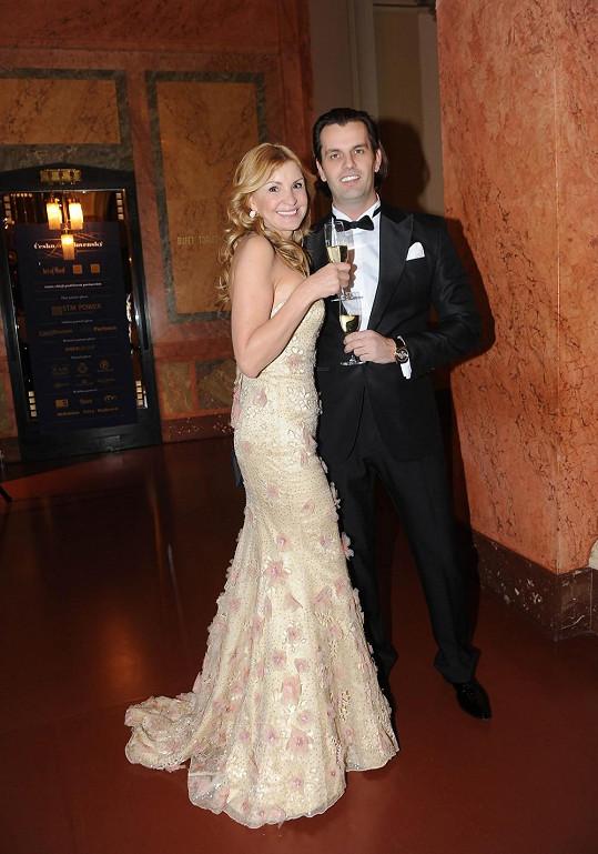 Tamara Kotvalová s partnerem Romanem Hajabáčem.