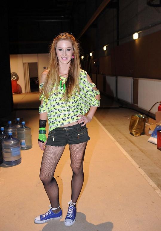 Sabina Křováková je majitelkou dlouhých a krásných nohou.