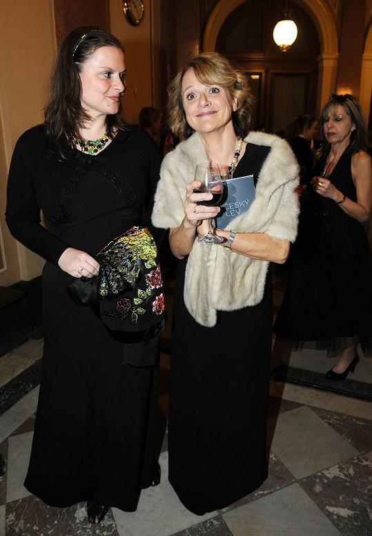 Tatiana Medvecká s dcerou