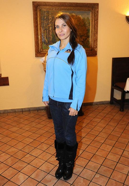 Eva Decastelo moderovala akci s horečkou.