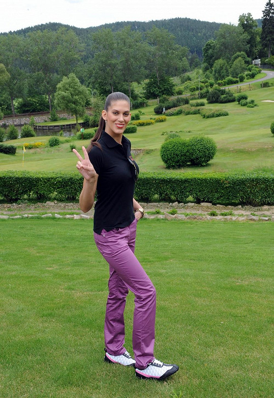 Aneta Vignerová nového partnera po rozchodu nemá.