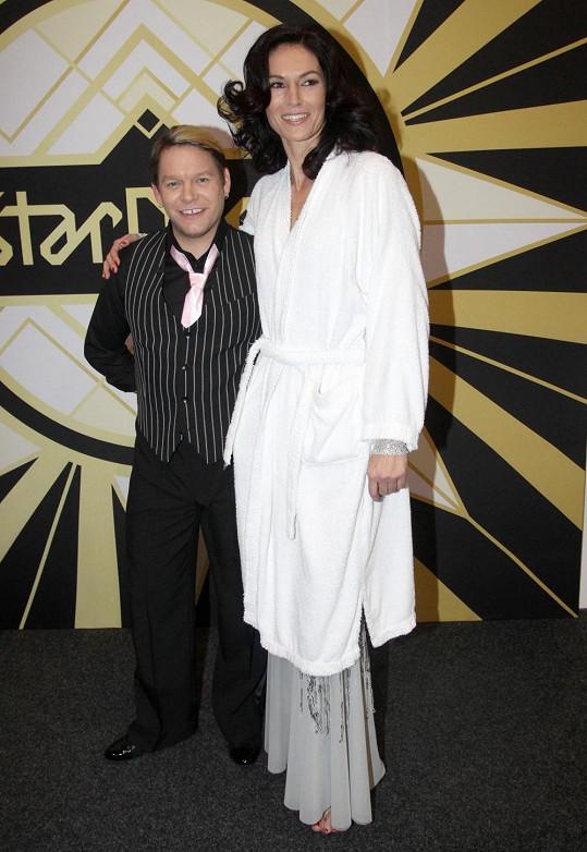 Matěj Ruppert je o 16 centimetrů menší než Šárka Kašpárková.