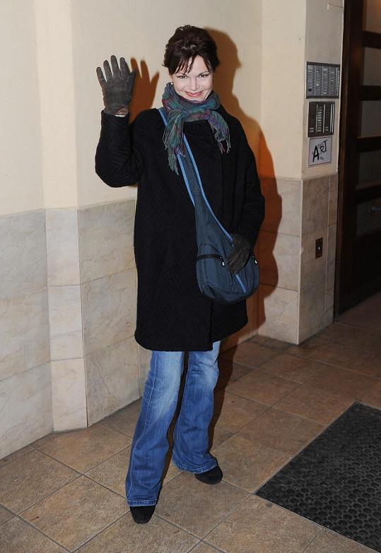 Simona Postlerová už chůzi zvládá bez berlí.