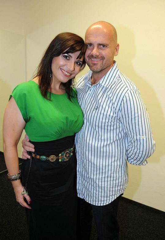 Andrea Kalivodová s přítelem Radkem plánují miminko.