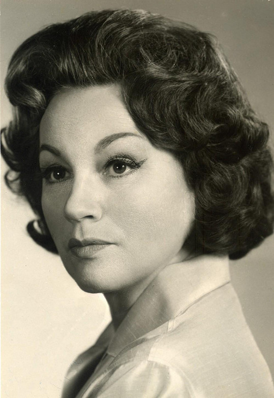 Adina Mandlová v polovině šedesátých let.