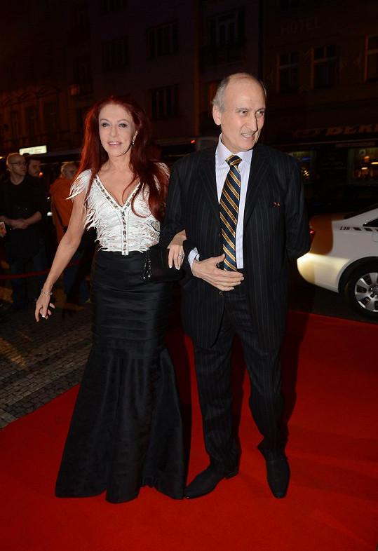Blanka se s manželem Makramem do Prahy stále ráda vrací.