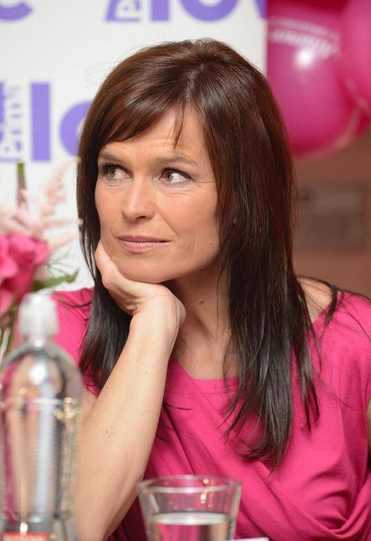 Olga Šípková se nebojí dát najevo své emoce.