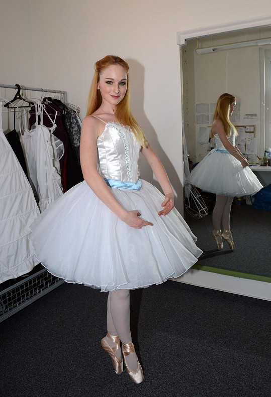 Role baletky to vyžaduje.