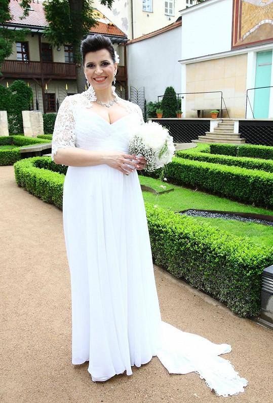 Andrea Kalivodová je vdanou paní.