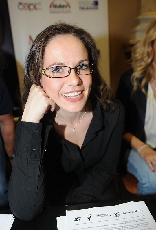 Lucie Bergerová je nominovaná na cenu Thálie.