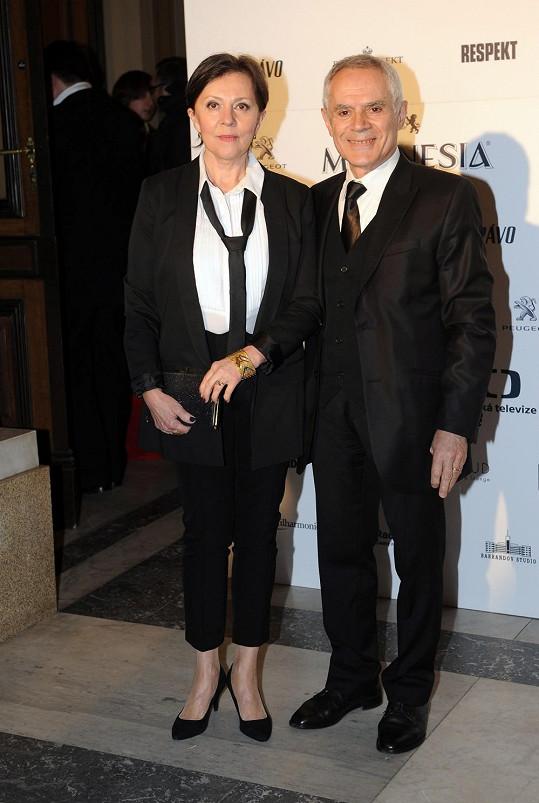 S manželem Morisem