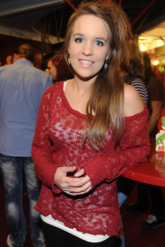 Vlaďka Skalová je mladá talentovaná zpěvačka.
