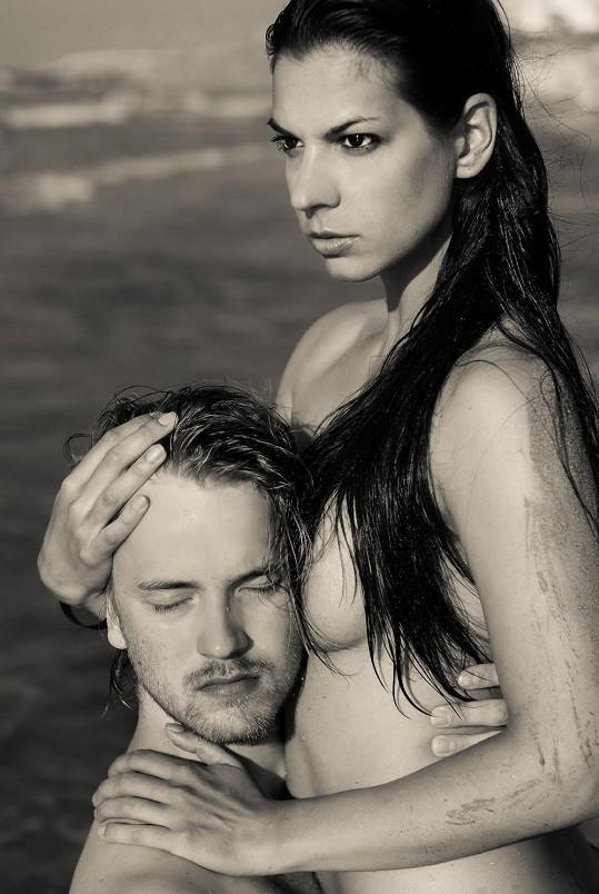 S manželem Jakubem Dřímalem nafotili krásný snímek.