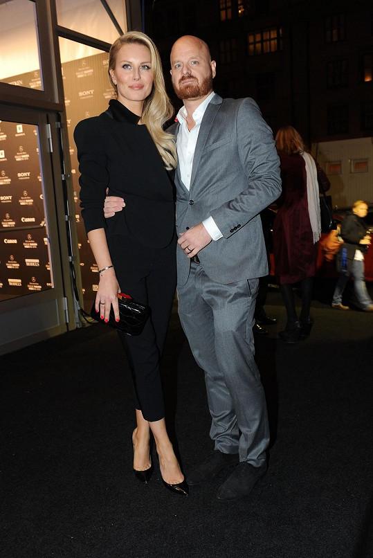Simona s manželem Karlem Vágnerem