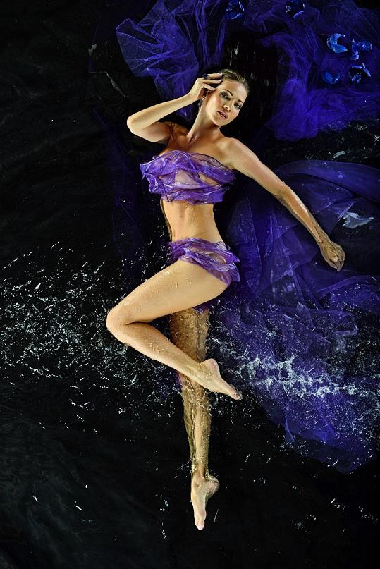 Slovenská modelka má dokonalou postavu.