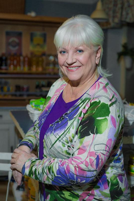Zdena Herfortová je známou divadelní a seriálovou herečkou.