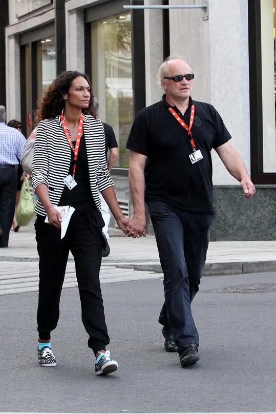 Lejla Abbasová má s Michaelem Kocábem syna Davida.