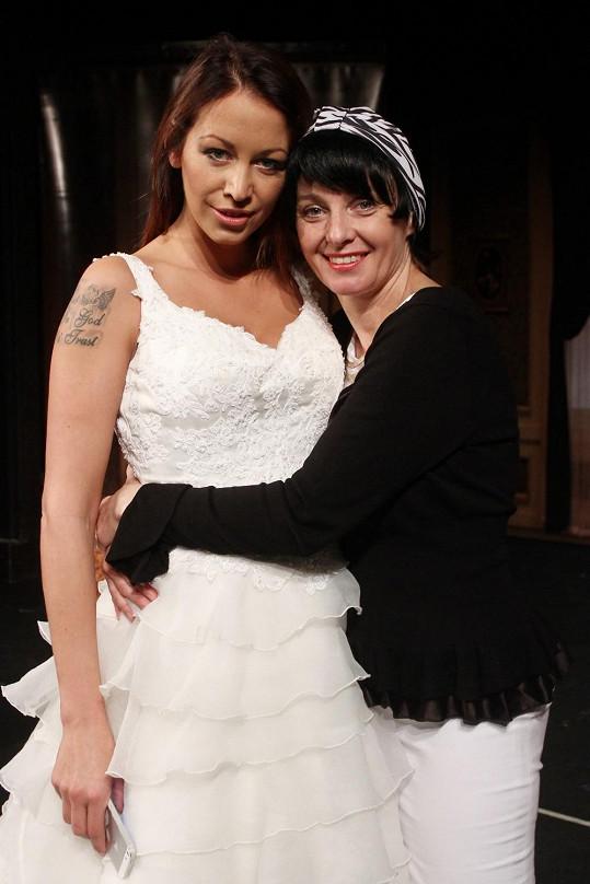 Agáta si v divadle zahraje se svou matkou Veronikou Žilkovou.