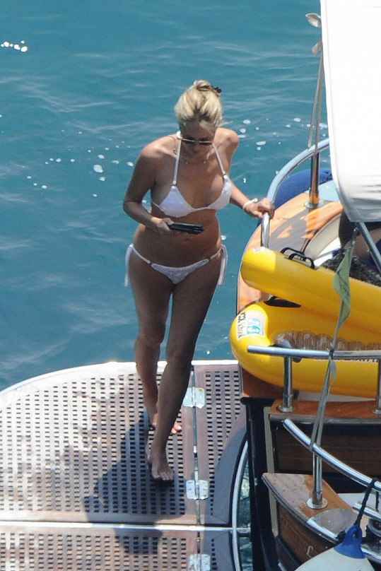 Sharon Stone v Itálii