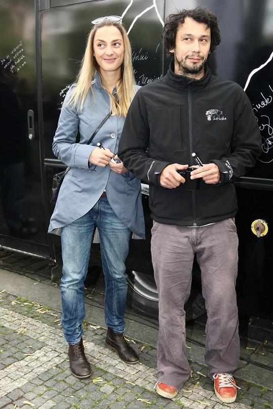Bára Poláková a Pavel Liška