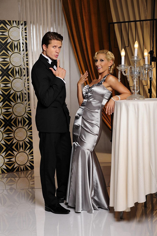 Brzobohatý má prý tu nejlepší taneční partnerku na světě.