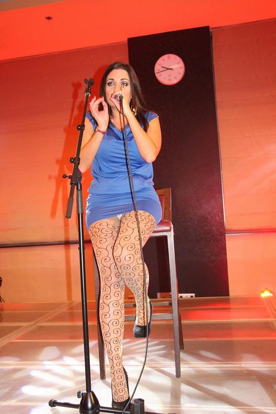 Andrea Zimányiová zpívala na Lékařském kongresu v Žilině.
