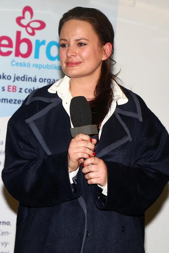 Jitka Čvančarová s DebROU spolupracuje dlouhodobě.