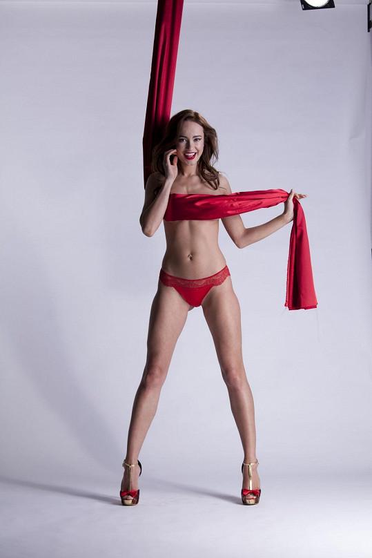 Původně chtěla mít Karolína skryté všechny intimní části těla.